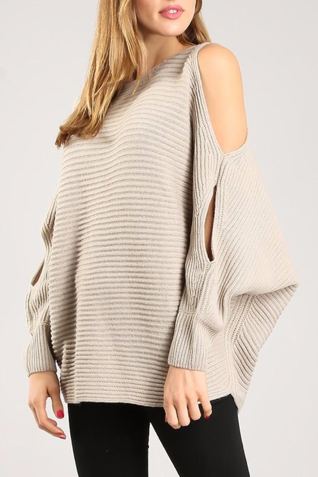 People Outfitter Ever Beautiful Sweater - Front Full Image