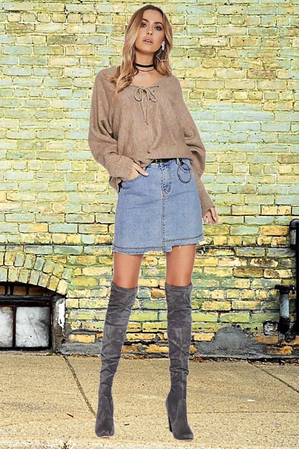 People Outfitter Fenella's Sweater - Front Full Image