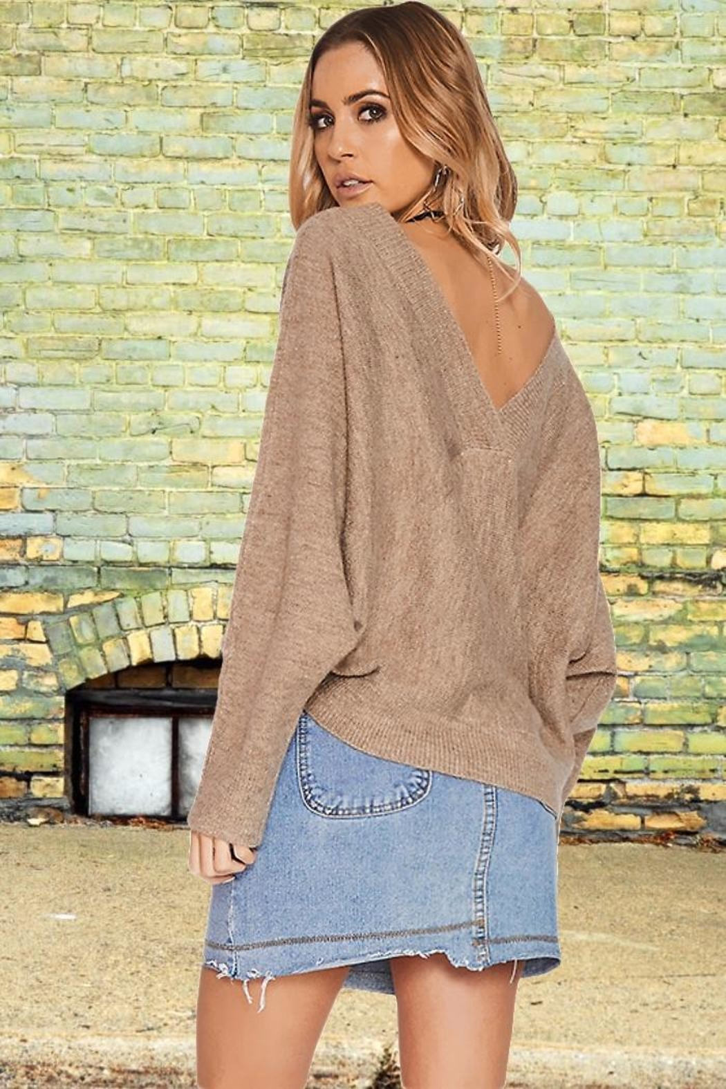 People Outfitter Fenella's Sweater - Side Cropped Image