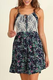 People Outfitter Floral Sleeveless Dress - Product Mini Image