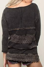 People Outfitter French Pullover Top - Front full body