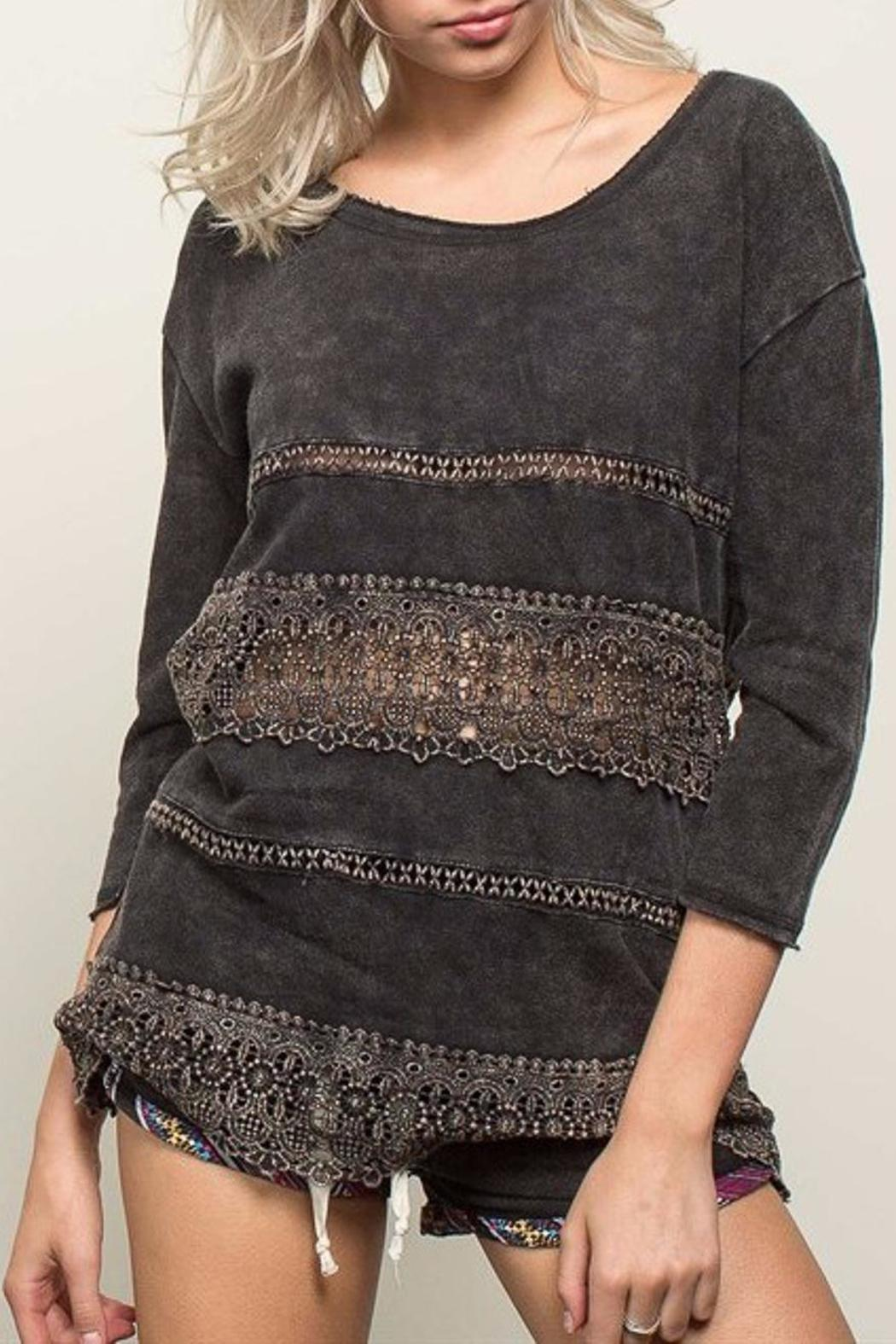 People Outfitter French Pullover Top - Main Image