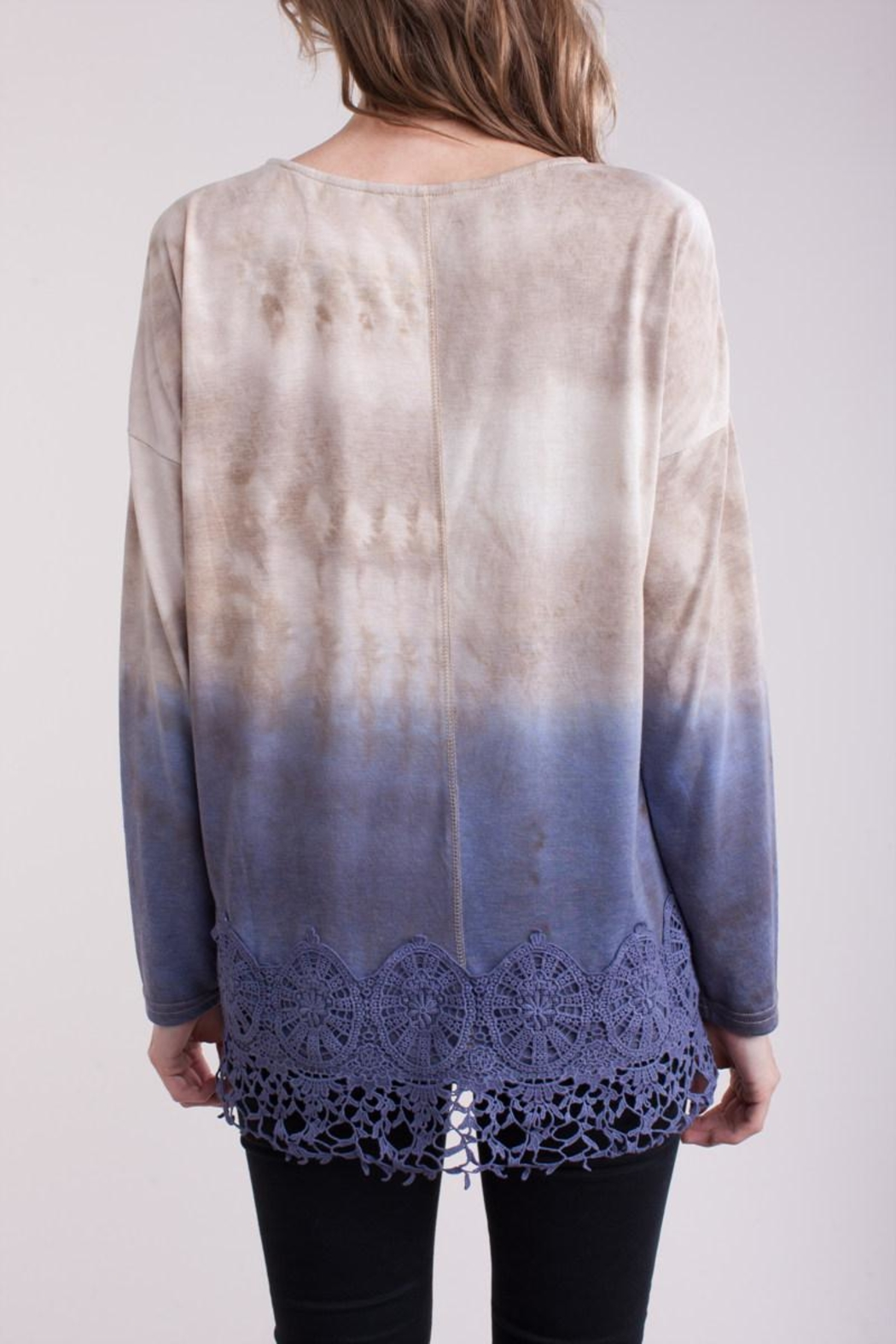 People Outfitter Geneva Knit Top - Side Cropped Image