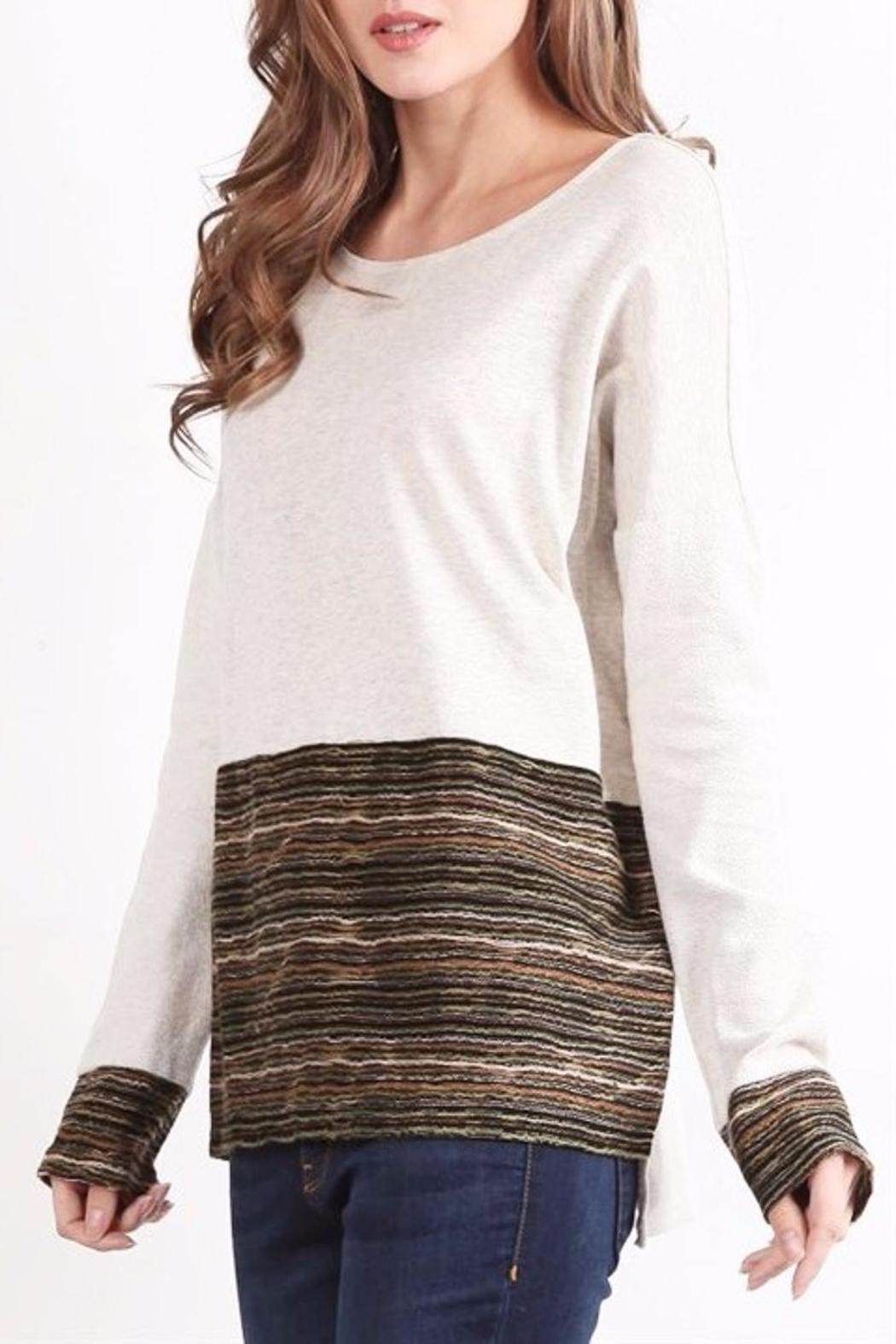 People Outfitter Girl Talk Top - Side Cropped Image