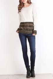 People Outfitter Girl Talk Top - Front full body