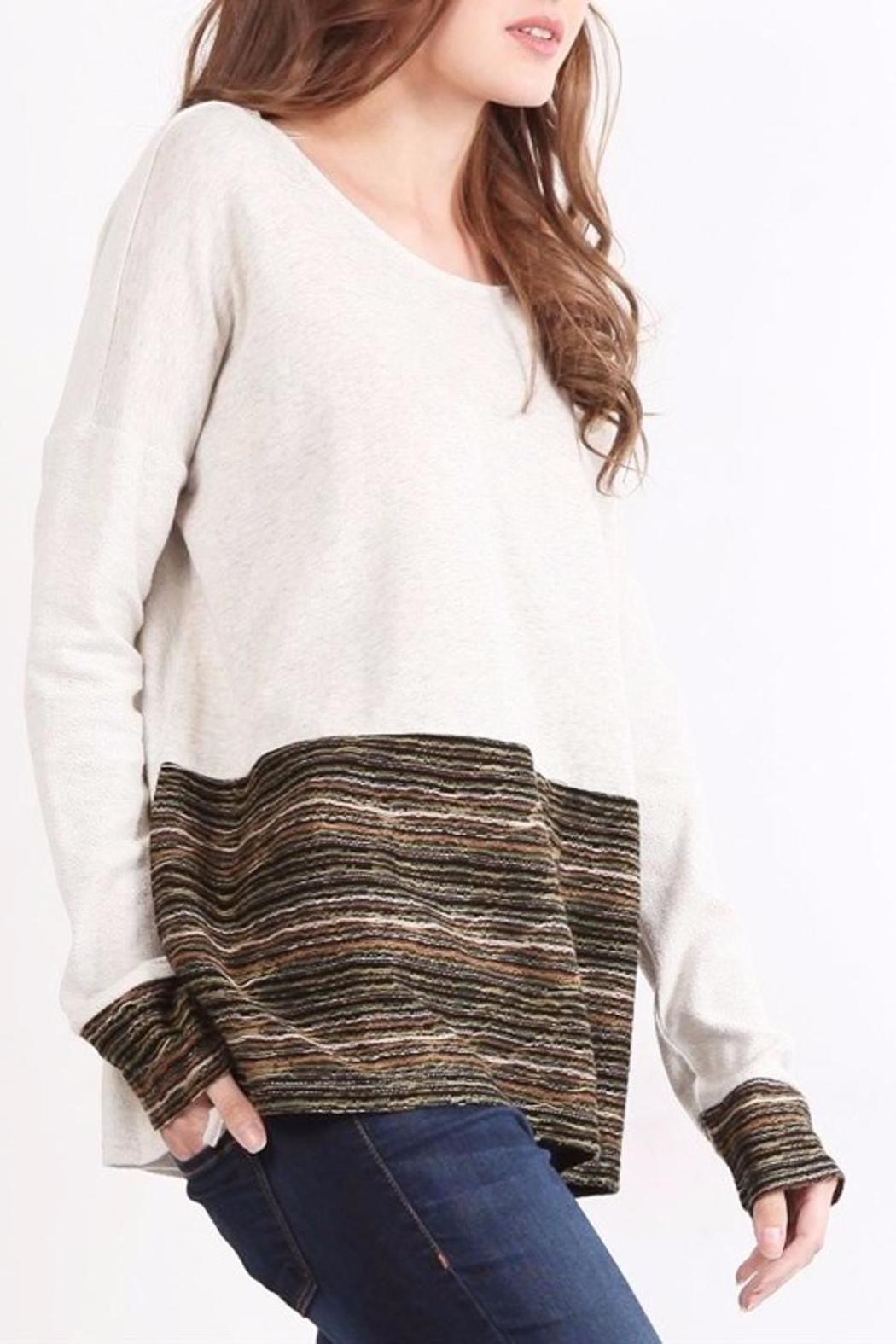 People Outfitter Girl Talk Top - Main Image