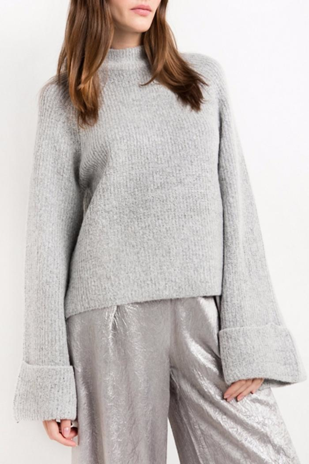 People Outfitter Go Softly Sweater - Front Full Image