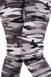 People Outfitter Grey Camouflage Legging - Other
