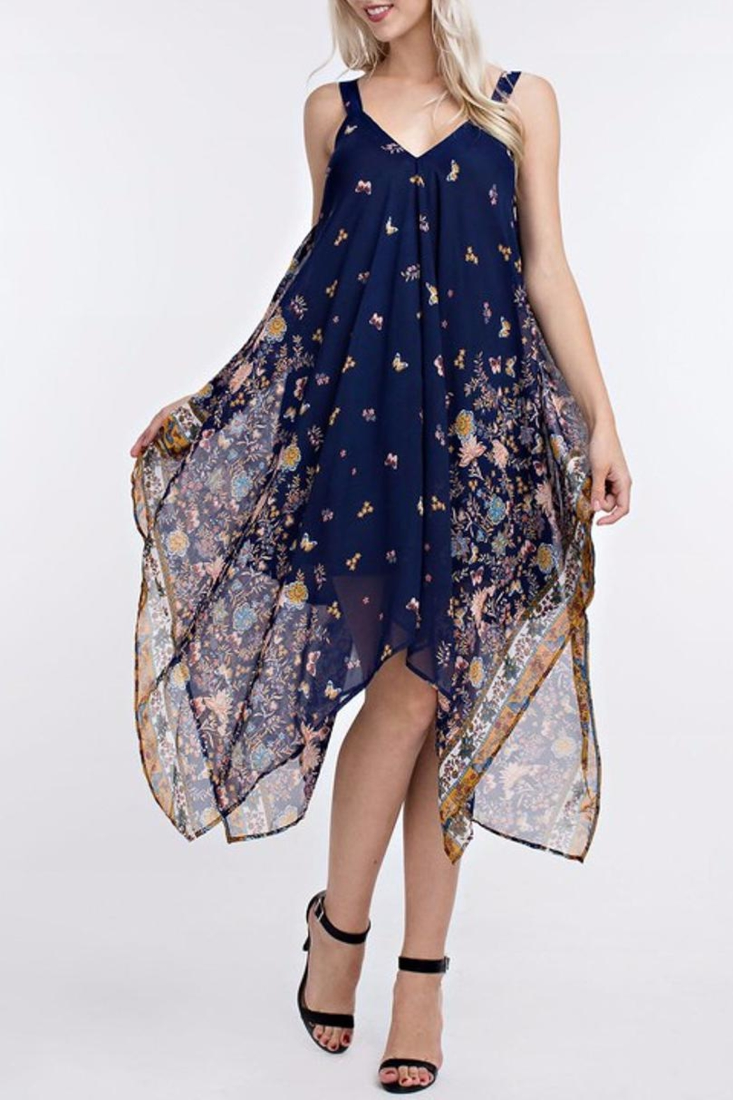 People Outfitter Handkerchief Dress - Main Image
