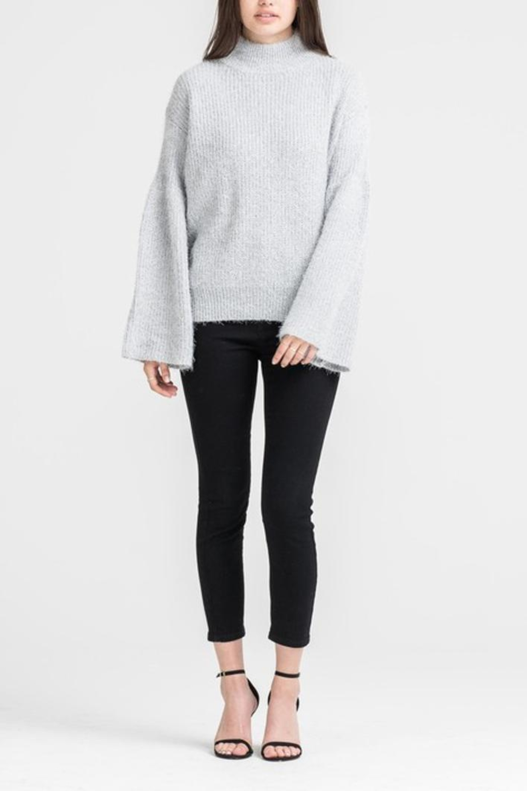 People Outfitter Hannah Sweater - Front Full Image