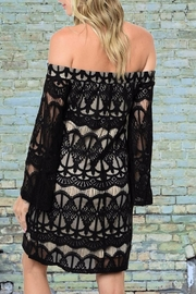 People Outfitter Hayley Lace Dress - Front full body
