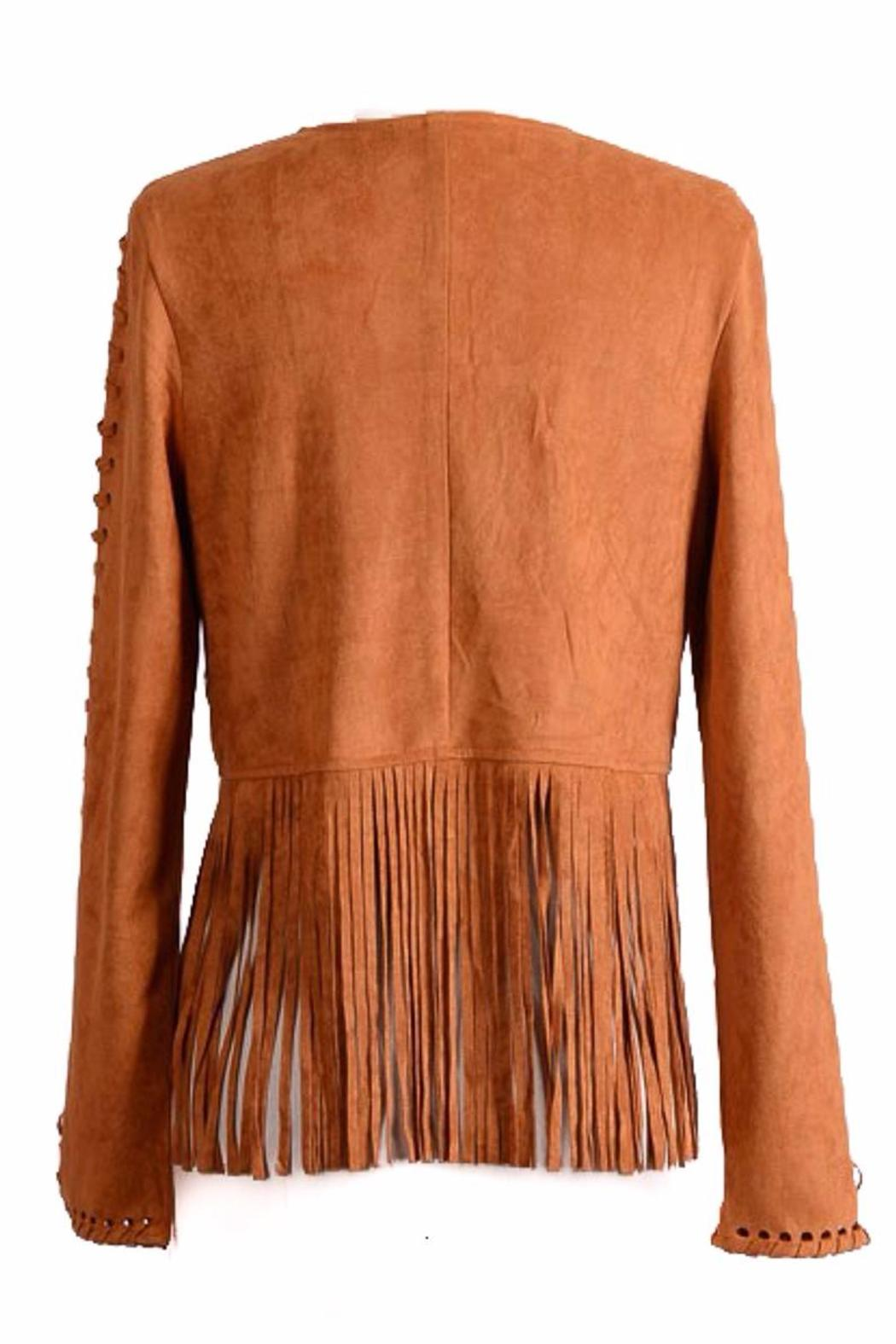 People Outfitter Hippie Fringe Cowgirl - Back Cropped Image