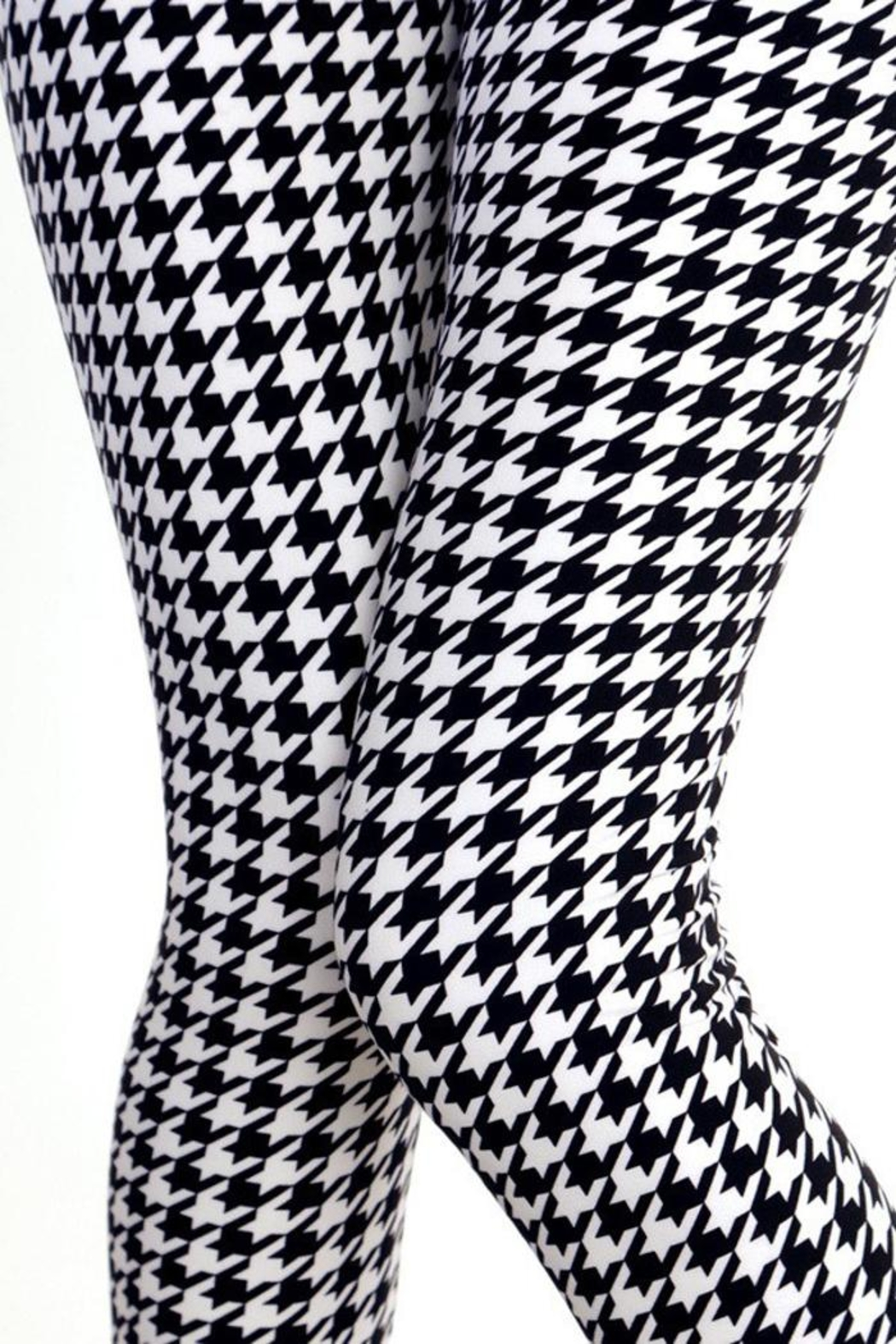 People Outfitter Houndstooth Legging - Front Full Image