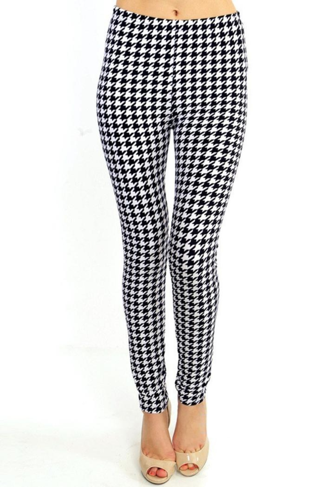 People Outfitter Houndstooth Legging - Main Image