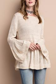 People Outfitter Keep Bell Sweater - Product Mini Image