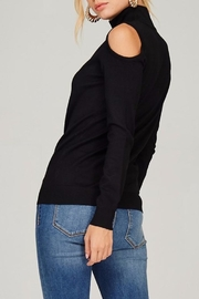 People Outfitter Knit Mock Neck Sweater - Side cropped