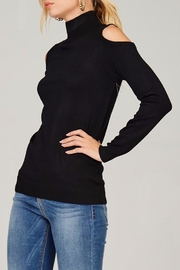 People Outfitter Knit Mock Neck Sweater - Front full body