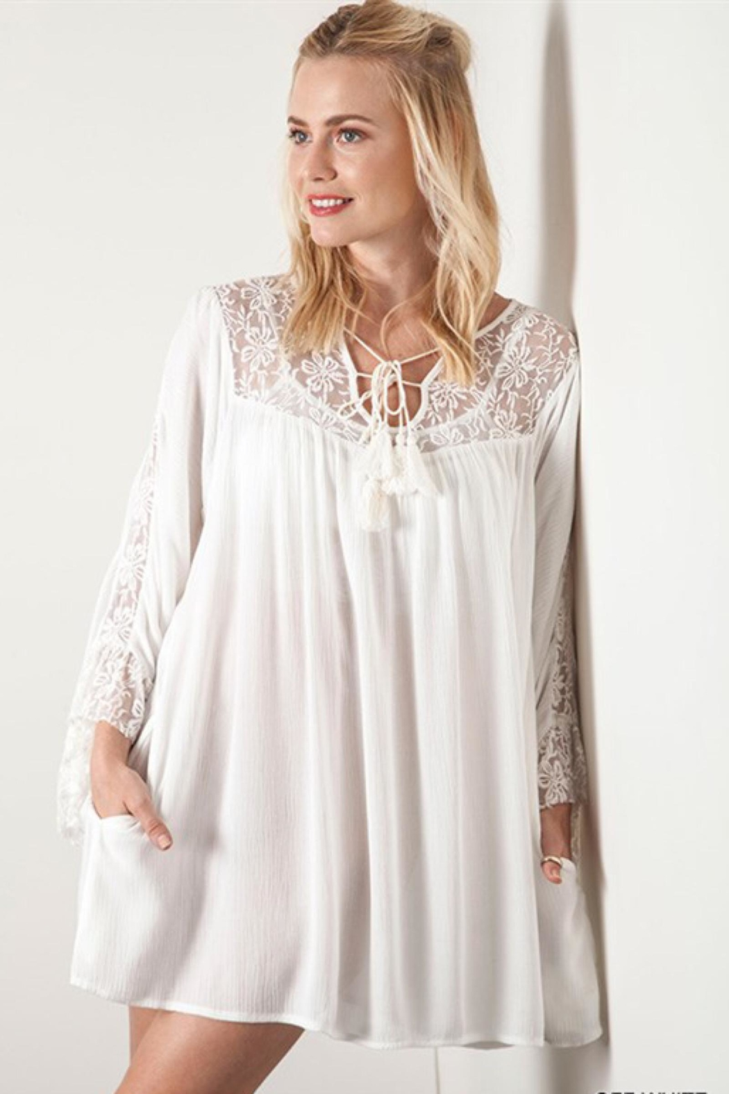 People Outfitter Lace Babydoll Dress - Main Image