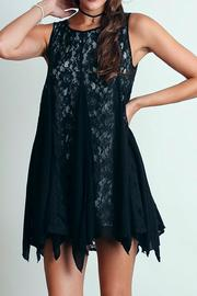People Outfitter Lace Flare Dress - Product Mini Image