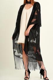 Shoptiques Product: Lace Kimono Duster - Back cropped