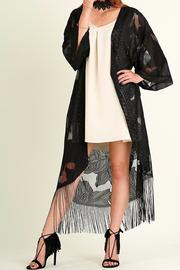 Shoptiques Product: Lace Kimono Duster - Front cropped