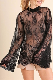 People Outfitter Lace Off Top - Product Mini Image