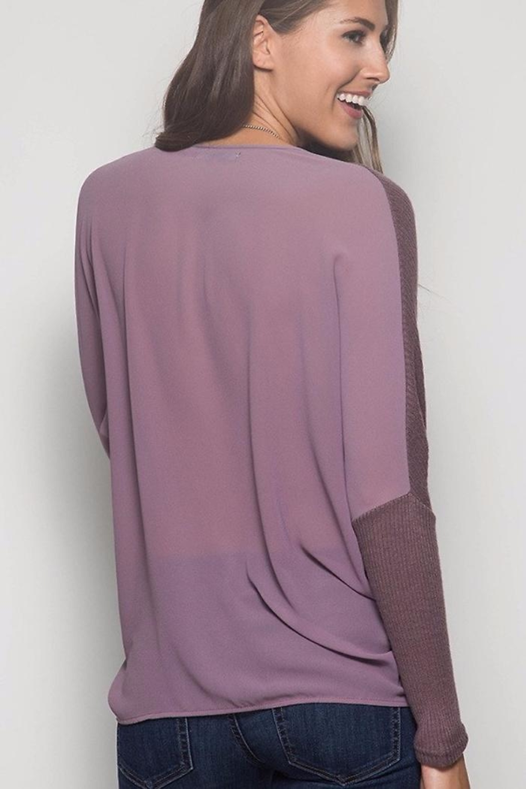 People Outfitter Lily's Knit Tunic - Front Cropped Image