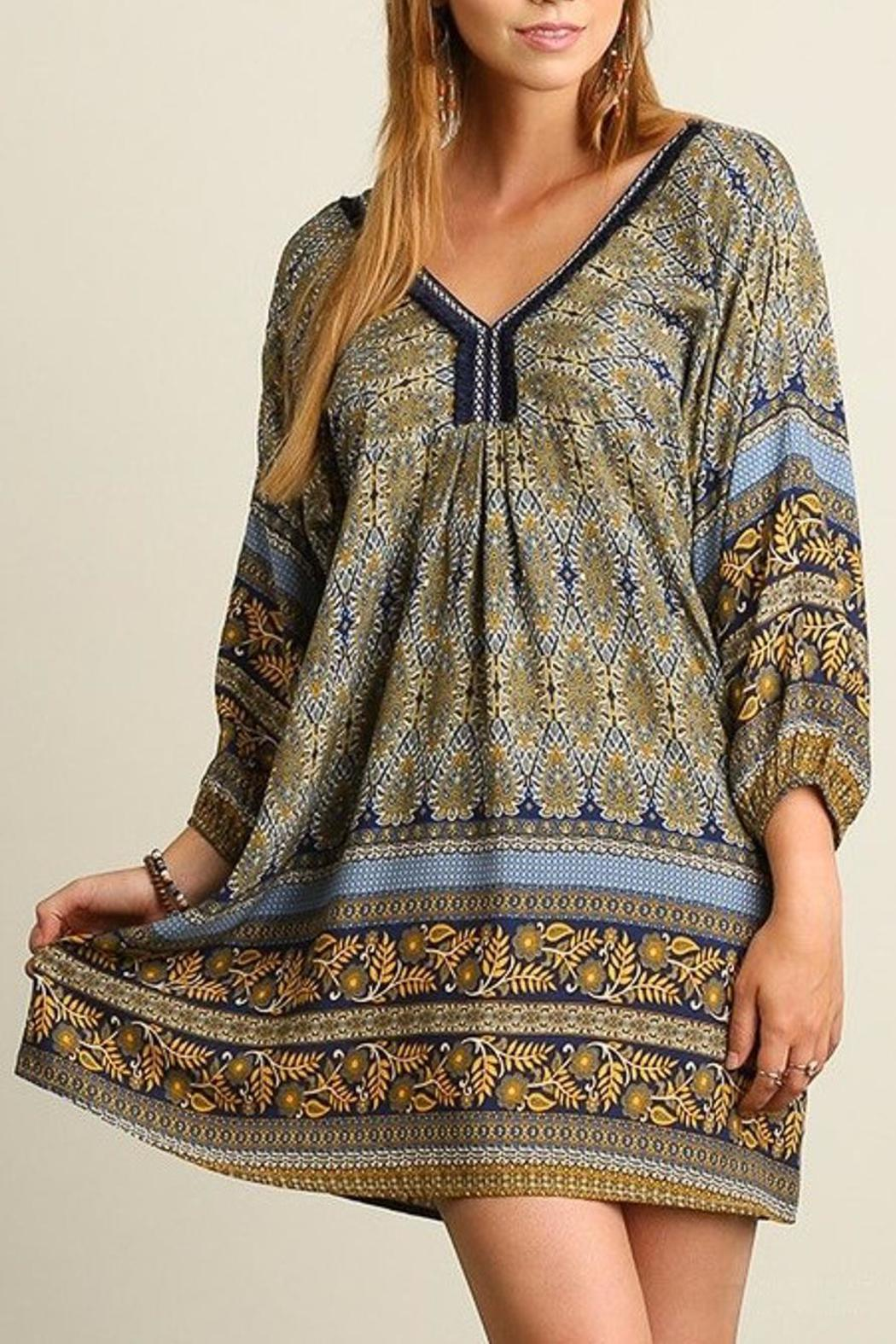 People Outfitter Livia Print Dress - Main Image