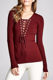 People Outfitter Looking Back Sweater - Front cropped