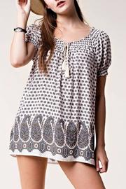 People Outfitter Loveliest Printed Top - Product Mini Image