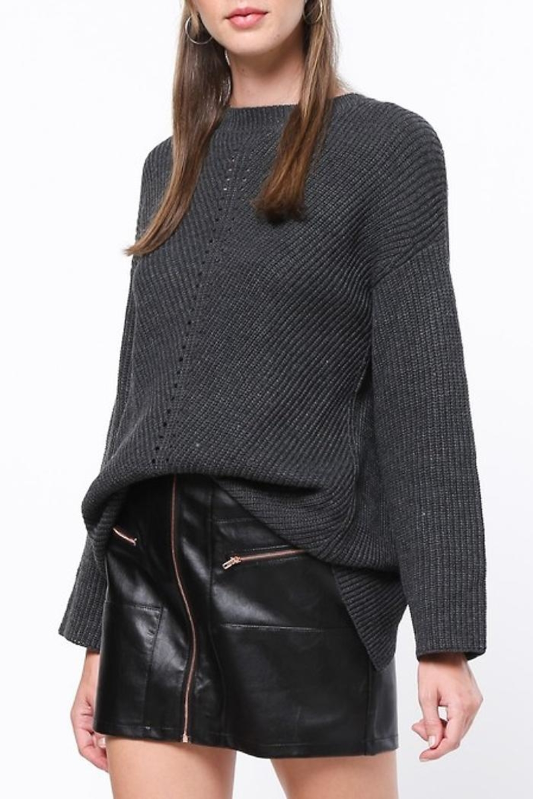 People Outfitter Lure-Me In Sweater - Side Cropped Image