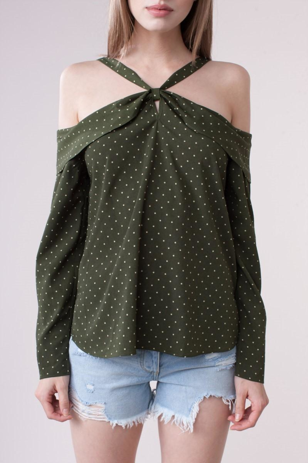 People Outfitter Madeline Off-Shoulder Top - Front Full Image