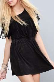 People Outfitter Fringed Dress - Product Mini Image