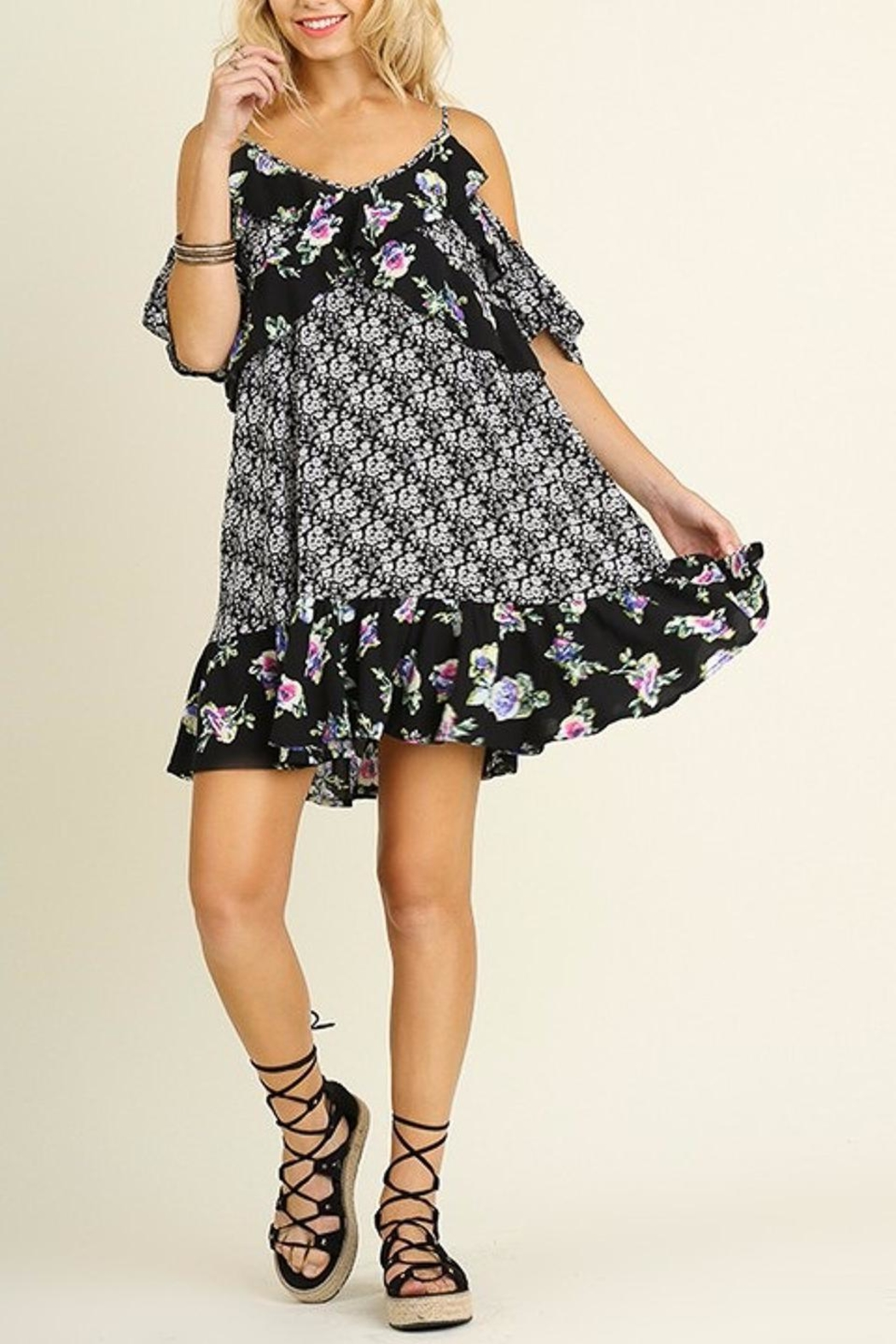 People Outfitter Melt Heart Dress - Back Cropped Image