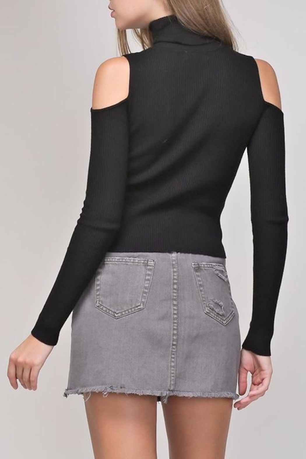 People Outfitter Mia Knit Top - Front Full Image