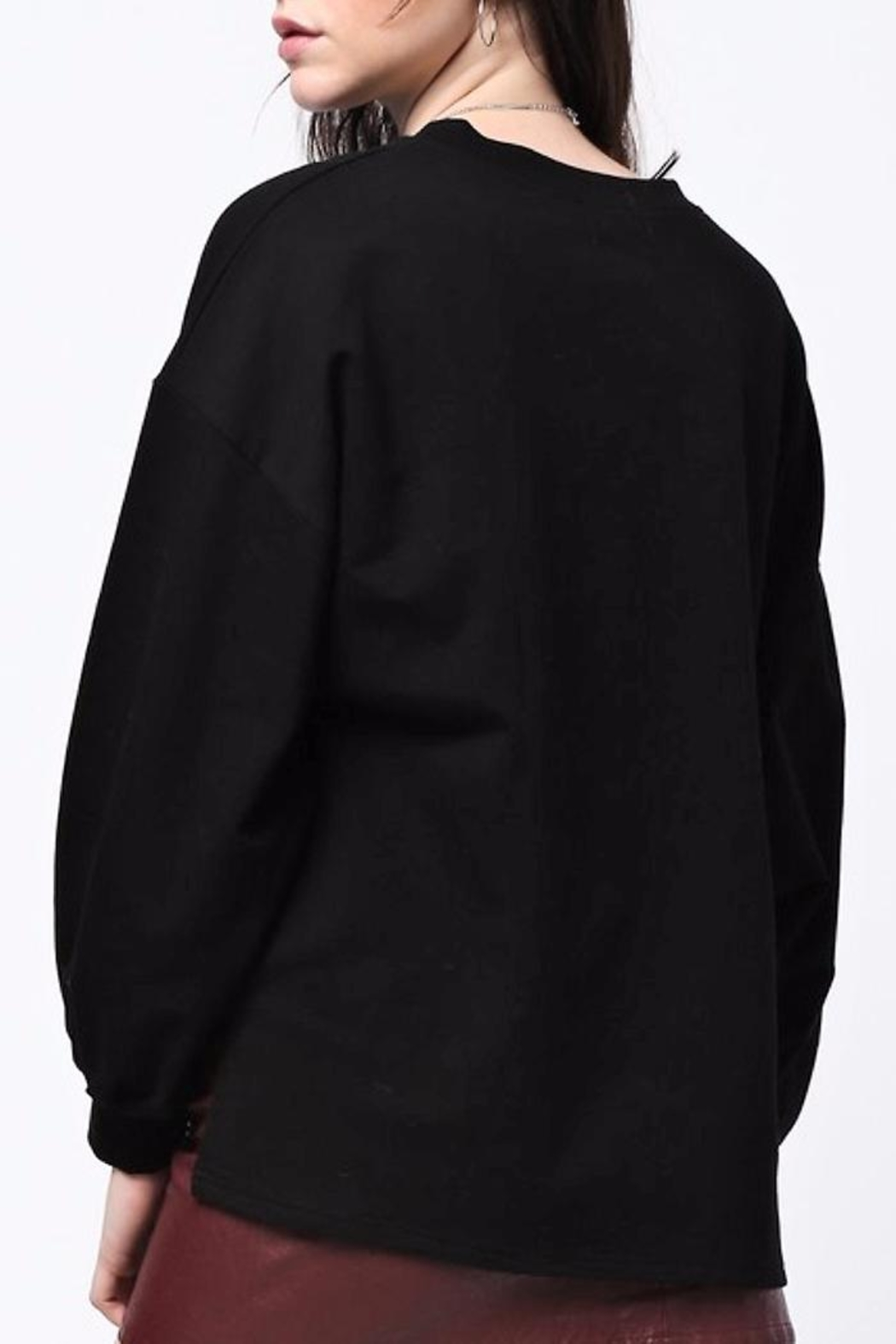 People Outfitter Much Loved Sweatshirt - Front Full Image