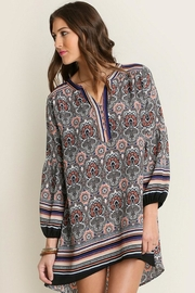 People Outfitter Multicolor Tunic Dress - Product Mini Image