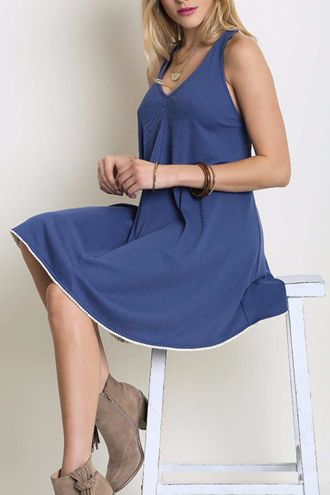 People Outfitter My Boardwalk Dress - Front Full Image