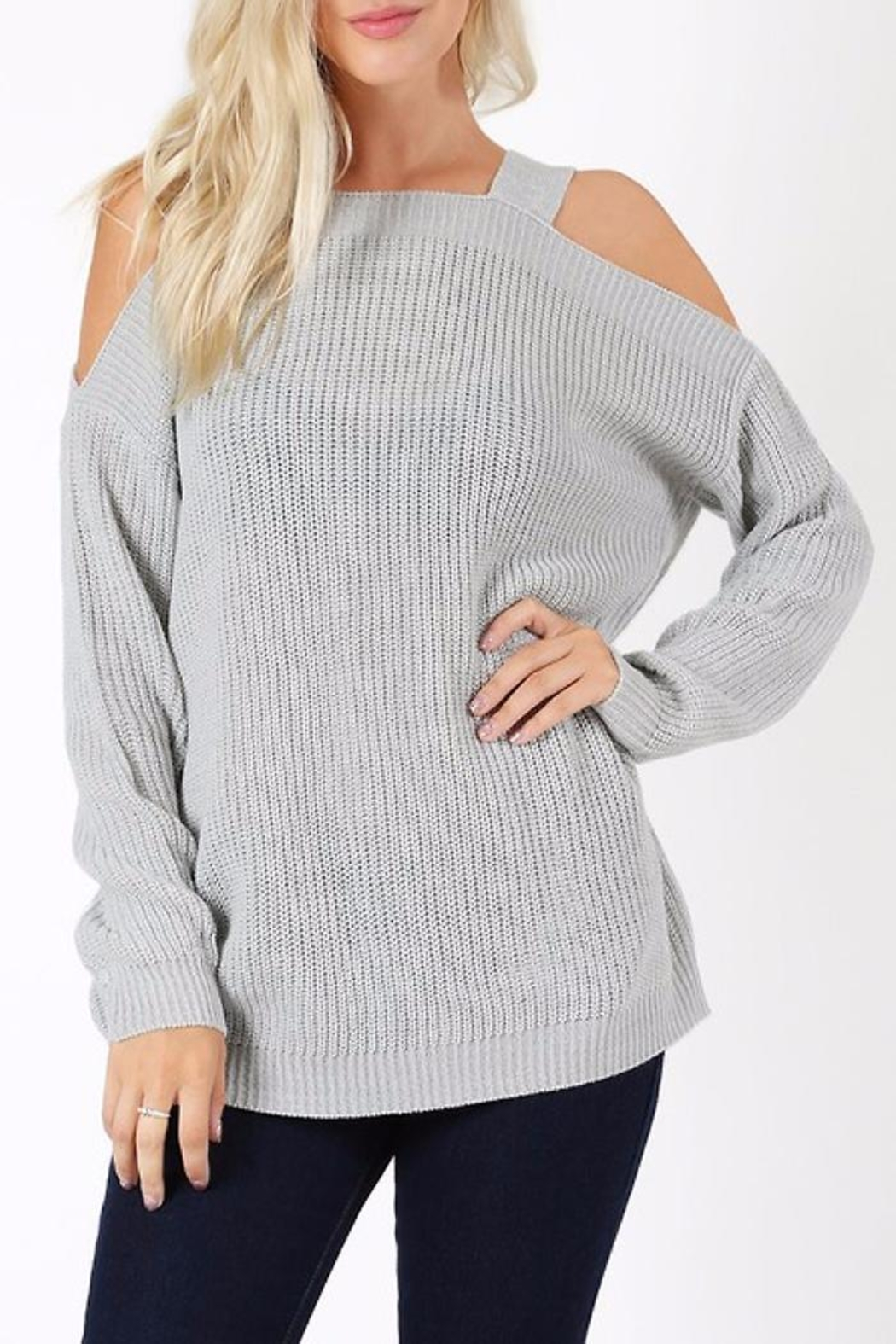 People Outfitter My Chunky Sweater - Front Cropped Image