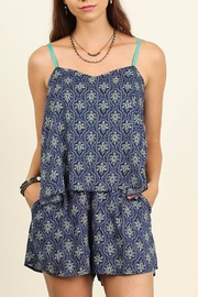 People Outfitter My Getaway Romper - Front cropped