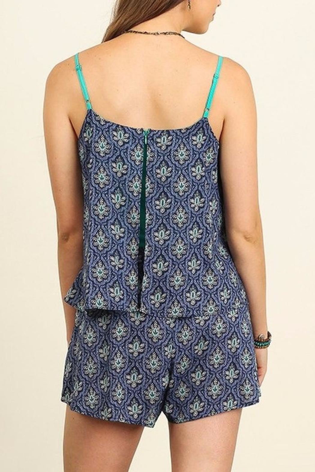 People Outfitter My Getaway Romper - Back Cropped Image