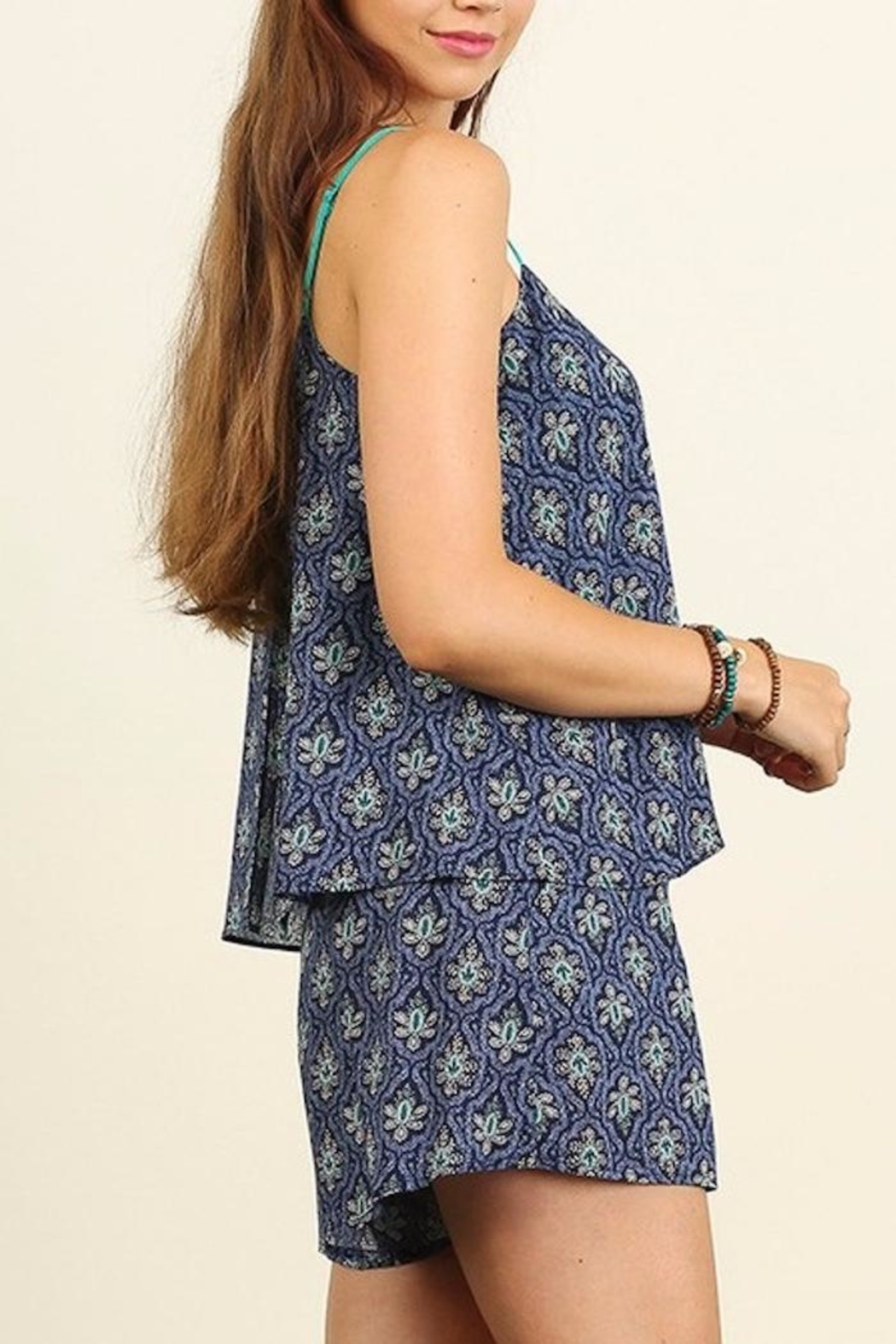 People Outfitter My Getaway Romper - Side Cropped Image
