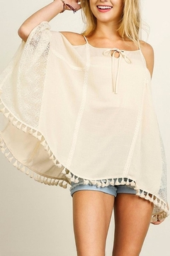 People Outfitter Lace Cold-Shoulder Top - Product List Image