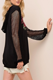 People Outfitter Mesh Hoodie - Side cropped