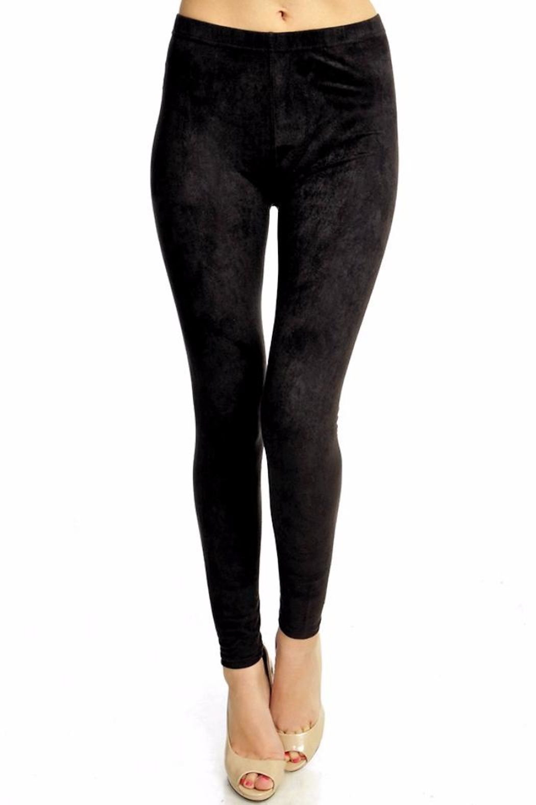 People Outfitter My Suede Leggings - Side Cropped Image