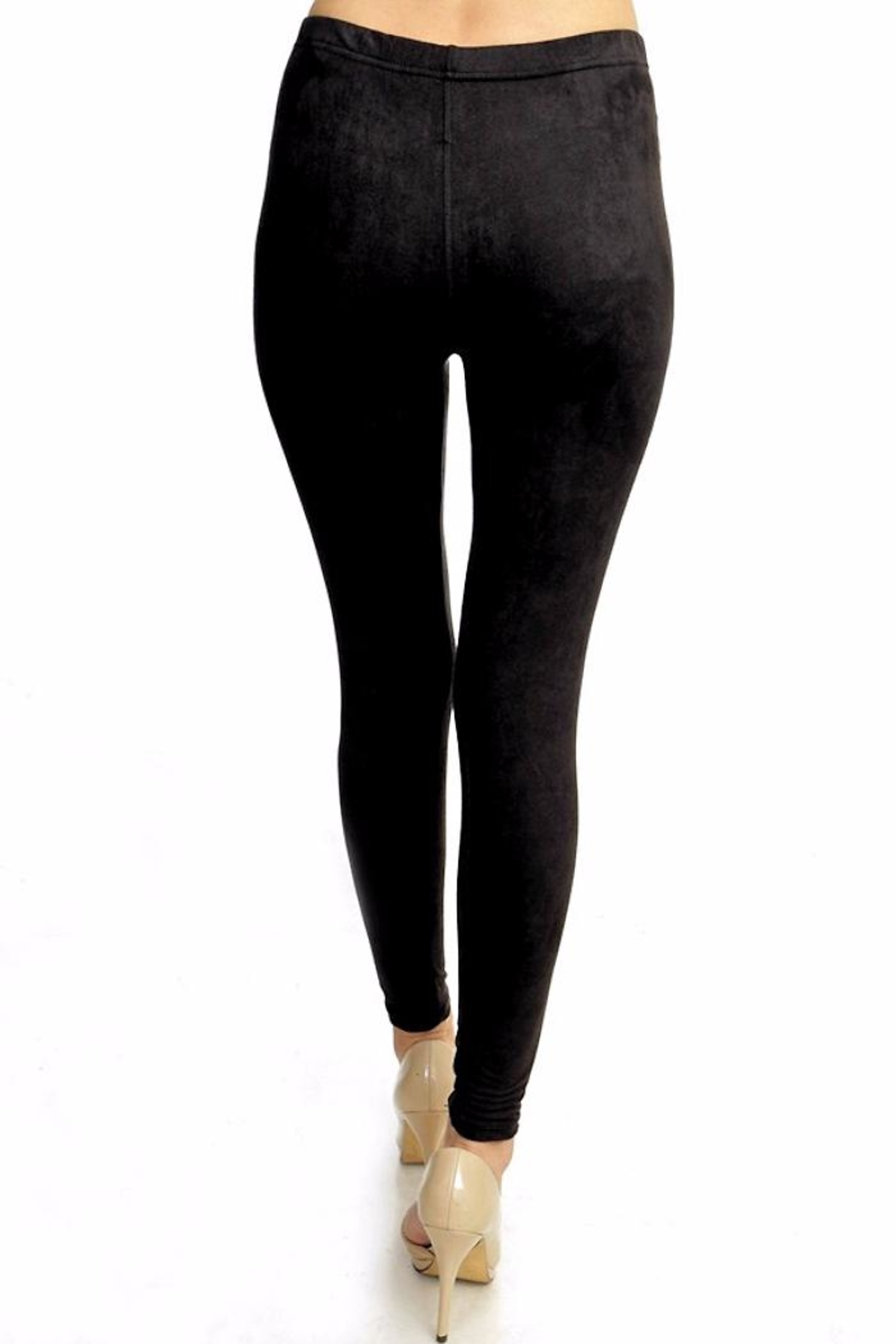 People Outfitter My Suede Leggings - Back Cropped Image
