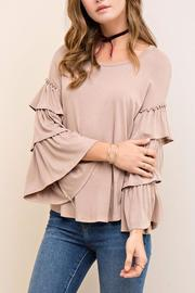 People Outfitter Mystic Ruffle Sleeves - Front cropped