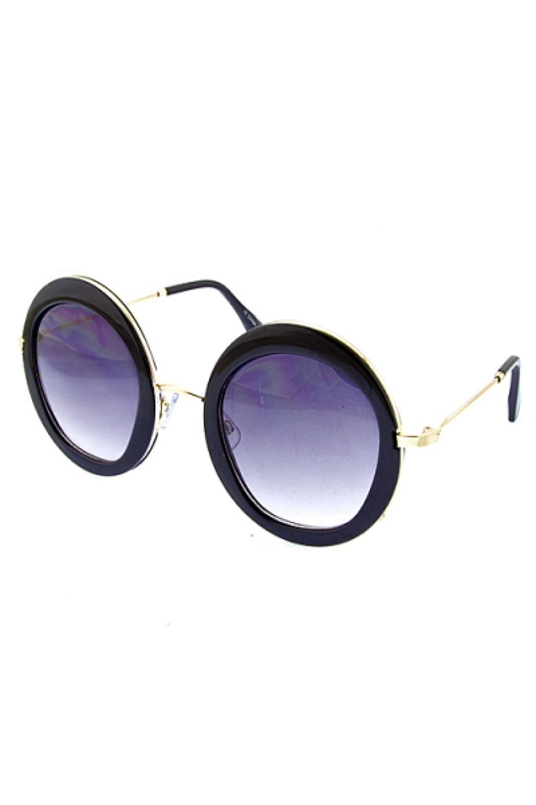 People Outfitter Ocean Round Sunnies - Main Image