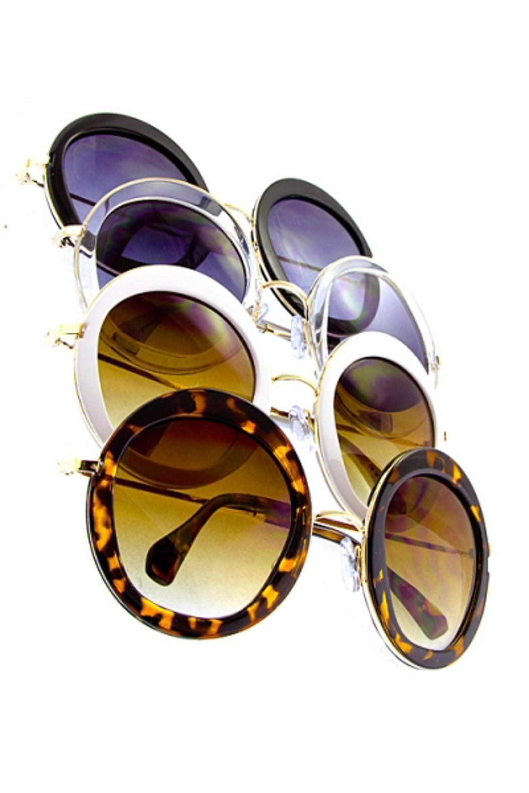 People Outfitter Ocean Round Sunnies - Front Full Image