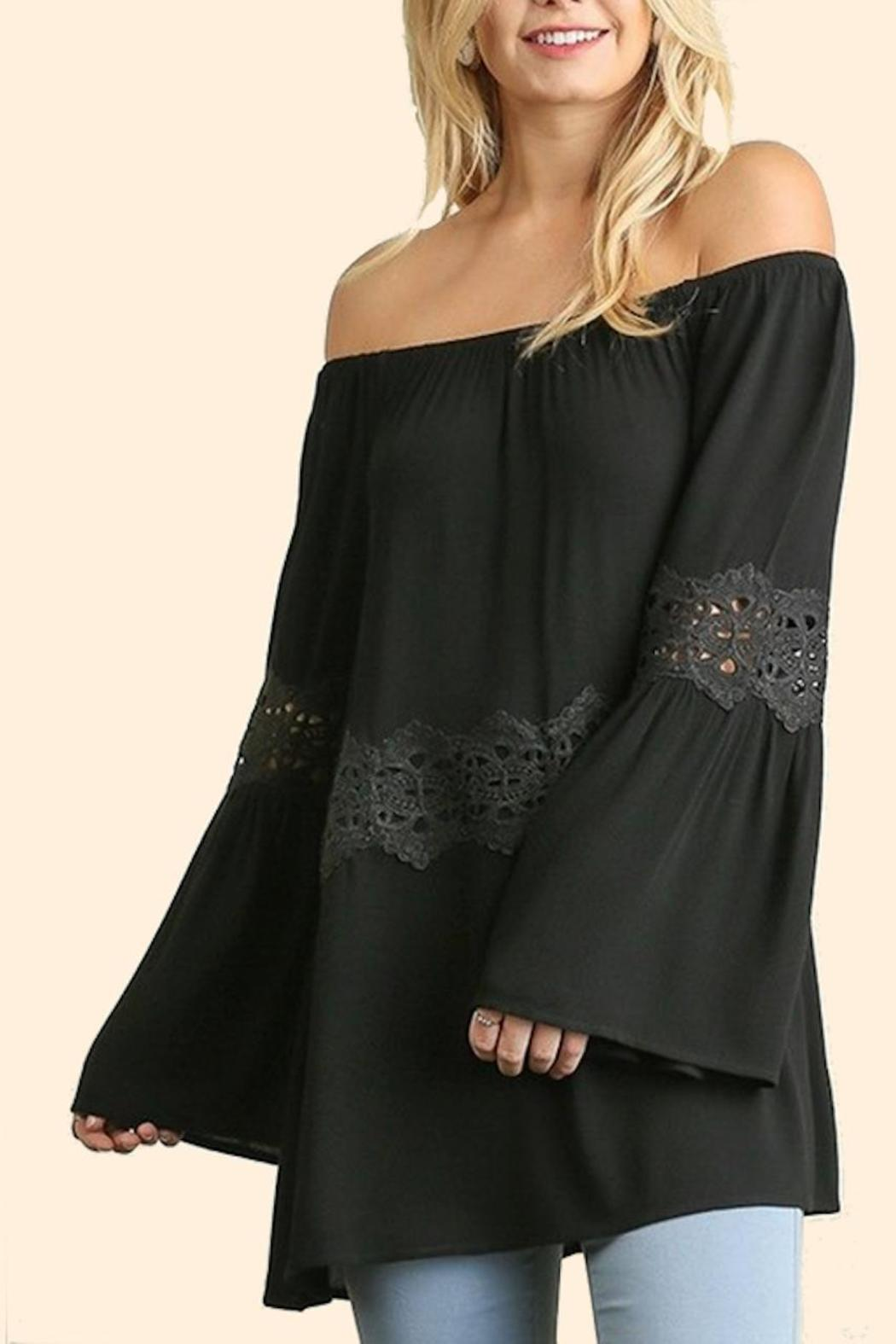 People Outfitter Off Shoulder Top - Front Cropped Image
